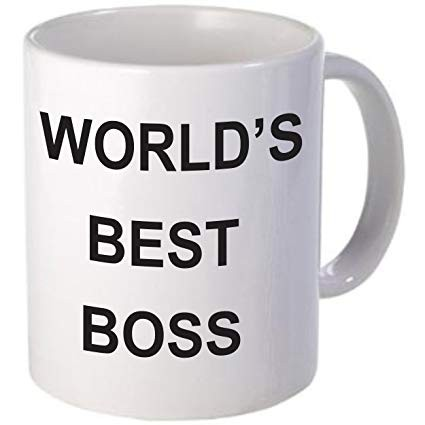 Boss Coffee Cup