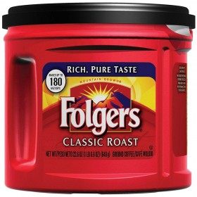 Folgers Classic Roast Ground Coffee, Medium-Roast, 22.6 Ounce