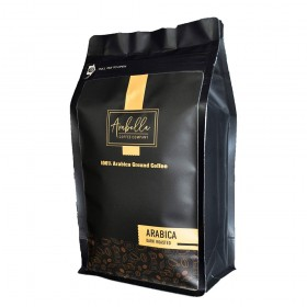Dark French Roast Organic Coffee, Ground Coffee