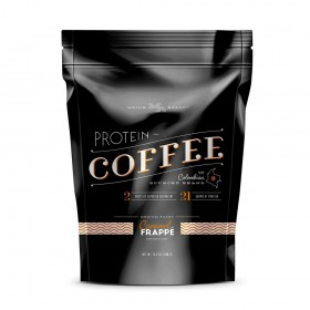 Complete Nutrition Maine Roast Protein Coffee, Caramel Frappe', Whey Protein, Espresso, Keto Friendly, 16.8 Oz Pouch