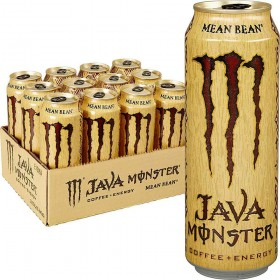 Java Monster Mean Bean, Coffee + Energy Drink