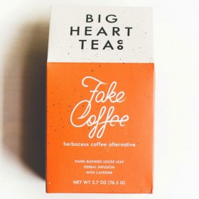 Fake Coffee | Coffee Alternative | Herbaceous Cacao Tea | Loose Blend | 2.8 ounces