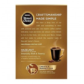 Nescafe Taster's Choice Instant Coffee Beverage, 16 Count,(Pack of 8)